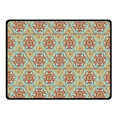 Hexagon Tile Pattern 2 Fleece Blanket (small) by Cveti