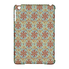 Hexagon Tile Pattern 2 Apple Ipad Mini Hardshell Case (compatible With Smart Cover) by Cveti