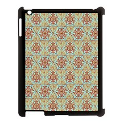 Hexagon Tile Pattern 2 Apple Ipad 3/4 Case (black) by Cveti
