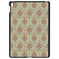 Hexagon Tile Pattern 2 Apple Ipad Pro 9 7   Black Seamless Case by Cveti
