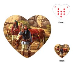 Apache Braves Playing Cards (heart)  by allthingseveryone