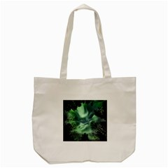 Northern Lights In The Forest Tote Bag (cream) by Ucco