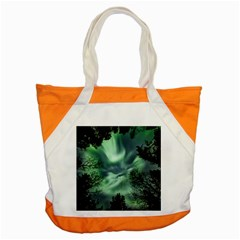 Northern Lights In The Forest Accent Tote Bag by Ucco