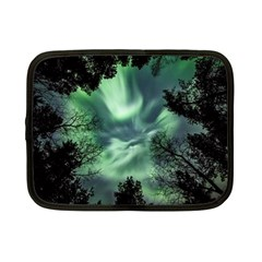 Northern Lights In The Forest Netbook Case (small)  by Ucco