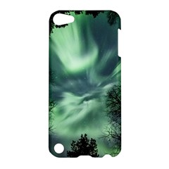 Northern Lights In The Forest Apple Ipod Touch 5 Hardshell Case by Ucco