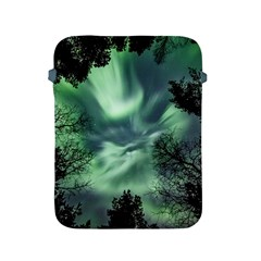 Northern Lights In The Forest Apple Ipad 2/3/4 Protective Soft Cases