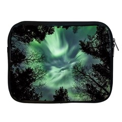 Northern Lights In The Forest Apple Ipad 2/3/4 Zipper Cases