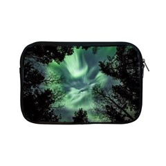 Northern Lights In The Forest Apple Ipad Mini Zipper Cases by Ucco