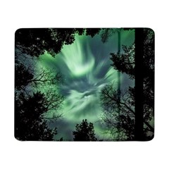 Northern Lights In The Forest Samsung Galaxy Tab Pro 8 4  Flip Case by Ucco