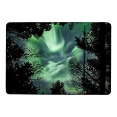 Northern Lights In The Forest Samsung Galaxy Tab Pro 10 1  Flip Case by Ucco