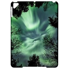 Northern Lights In The Forest Apple Ipad Pro 9 7   Hardshell Case by Ucco