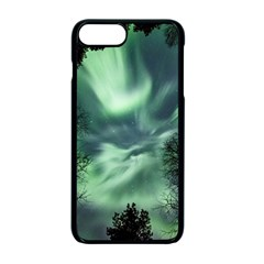 Northern Lights In The Forest Apple Iphone 7 Plus Seamless Case (black) by Ucco