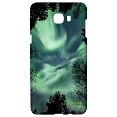 Northern Lights In The Forest Samsung C9 Pro Hardshell Case