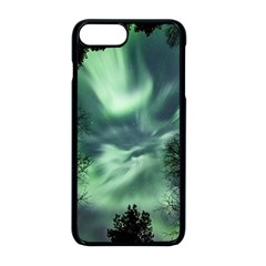 Northern Lights In The Forest Apple Iphone 8 Plus Seamless Case (black) by Ucco