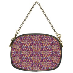Flower Kaleidoscope 2 01 Chain Purses (two Sides)  by Cveti