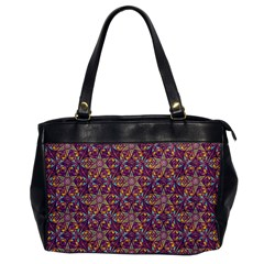Flower Kaleidoscope 2 01 Office Handbags by Cveti