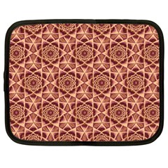 Flower Star Pattern  Netbook Case (xl)