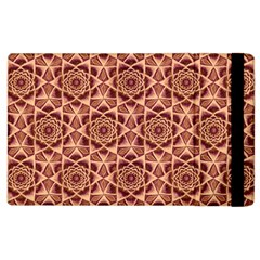 Flower Star Pattern  Apple Ipad 2 Flip Case by Cveti