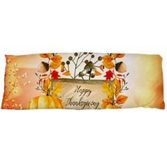 Happy Thanksgiving With Pumpkin Body Pillow Case Dakimakura (two Sides) by FantasyWorld7
