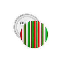 Christmas Holiday Stripes Red 1 75  Buttons by Celenk