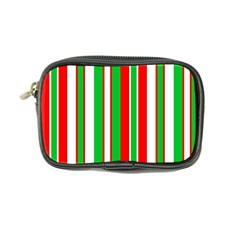 Christmas Holiday Stripes Red Coin Purse by Celenk