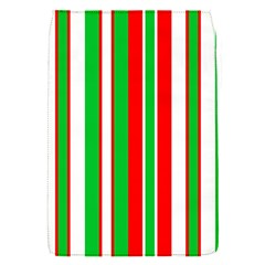 Christmas Holiday Stripes Red Flap Covers (s)  by Celenk