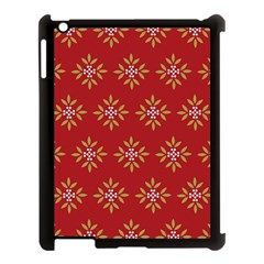 Pattern Background Holiday Apple Ipad 3/4 Case (black) by Celenk