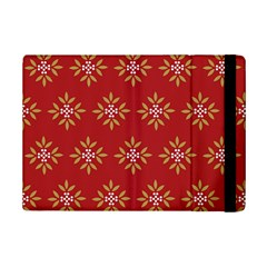 Pattern Background Holiday Ipad Mini 2 Flip Cases by Celenk