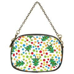 Pattern Circle Multi Color Chain Purses (one Side)  by Celenk