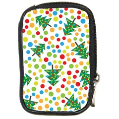 Pattern Circle Multi Color Compact Camera Cases by Celenk