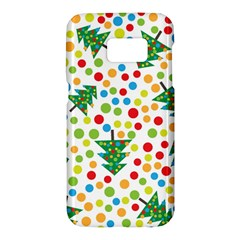 Pattern Circle Multi Color Samsung Galaxy S7 Hardshell Case  by Celenk
