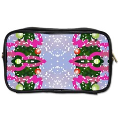 Seamless Tileable Pattern Design Toiletries Bags by Celenk