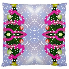 Seamless Tileable Pattern Design Large Cushion Case (two Sides) by Celenk