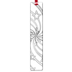 Star Christmas Pattern Texture Large Book Marks by Celenk