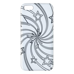 Star Christmas Pattern Texture Apple Iphone 5 Premium Hardshell Case by Celenk
