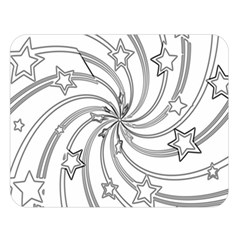 Star Christmas Pattern Texture Double Sided Flano Blanket (large)  by Celenk