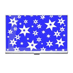 Star Background Pattern Advent Business Card Holders