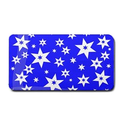 Star Background Pattern Advent Medium Bar Mats by Celenk