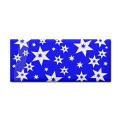 Star Background Pattern Advent Cosmetic Storage Cases by Celenk