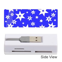 Star Background Pattern Advent Memory Card Reader (stick)  by Celenk