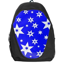 Star Background Pattern Advent Backpack Bag by Celenk