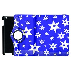 Star Background Pattern Advent Apple Ipad 2 Flip 360 Case by Celenk