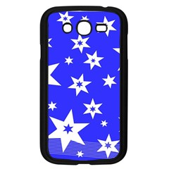Star Background Pattern Advent Samsung Galaxy Grand Duos I9082 Case (black) by Celenk