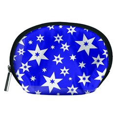 Star Background Pattern Advent Accessory Pouches (medium)  by Celenk