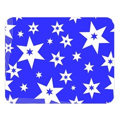 Star Background Pattern Advent Double Sided Flano Blanket (large)  by Celenk