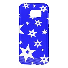 Star Background Pattern Advent Samsung Galaxy S7 Edge Hardshell Case