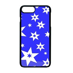 Star Background Pattern Advent Apple Iphone 7 Plus Seamless Case (black) by Celenk