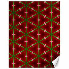 Textured Background Christmas Pattern Canvas 12  X 16   by Celenk