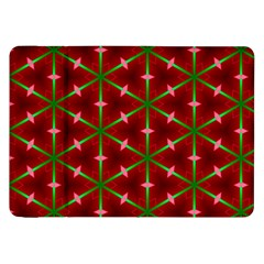 Textured Background Christmas Pattern Samsung Galaxy Tab 8 9  P7300 Flip Case by Celenk