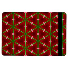 Textured Background Christmas Pattern Ipad Air 2 Flip by Celenk